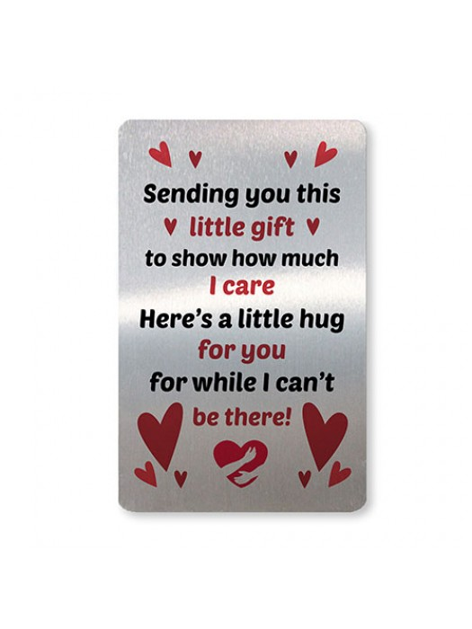 Pocket Hug Gift For Mum Dad Nan Friend Keepsake Gift Insert