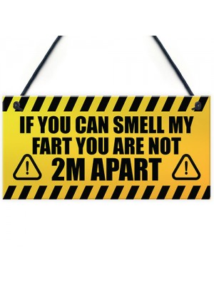 Funny Quarantine Social Distance Gifts Novelty Man Cave Sign