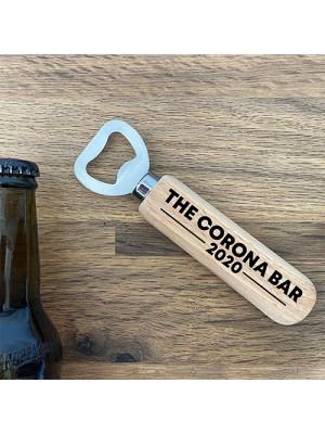 Novelty Corona Bar Gift Home Bar Pub Wooden Bottle Opener