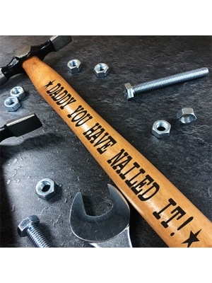 Engraved Hammer Gift For Daddy Novelty Birthday Gift Idea Dad