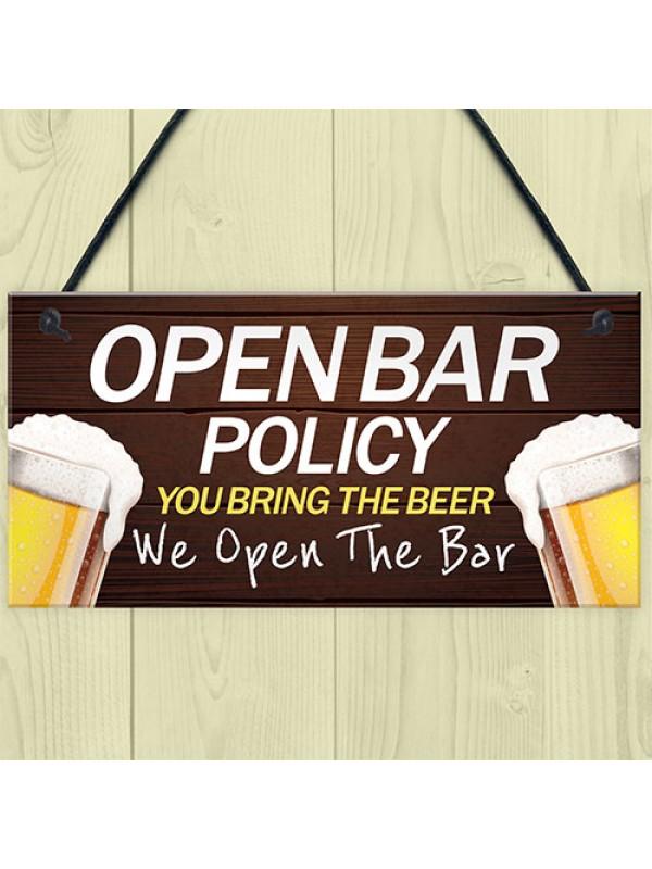 Funny Bar Sign Man Cave Pub Bar Sign Hanging Sign Gift For Him