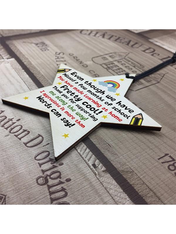 Gift For Teacher Teaching Assistant Lockdown Poem Thank You Gift