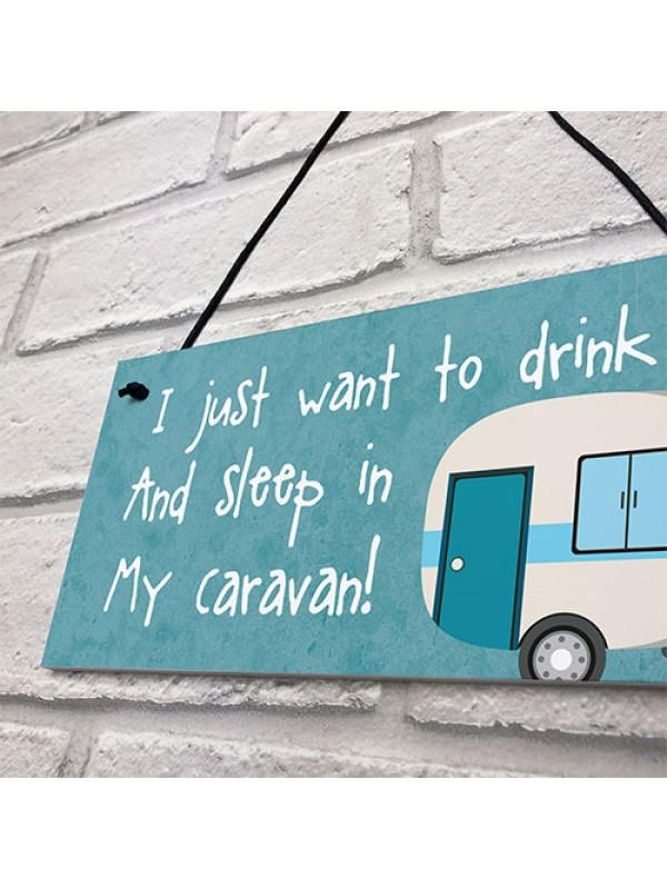 Funny Caravan Sign For Door Caravan Accessories Home Decor Gift