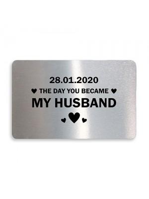 Personalised Anniversary Birthday Christmas Gift For Husband