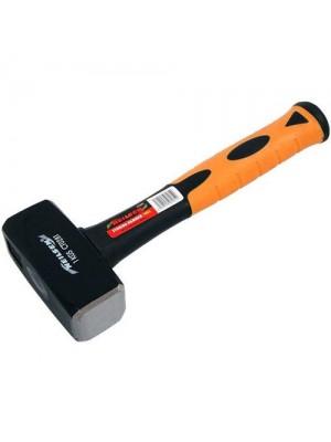 2.5Lb Club Lump Hammer Hardened Steel Face & Fibreglass Handle