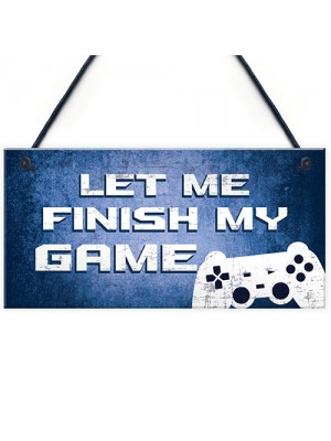Gaming Signs Novelty Christmas Gift For Son Brother Gamer Gifts