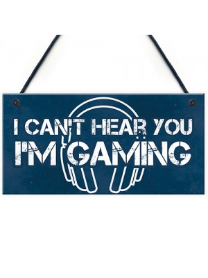 Gaming Bedroom Door Sign Novelty Gamer Gift For Brother Son Dad