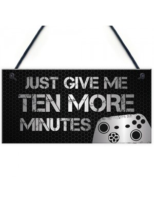 Funny Gaming Sign For Bedroom Novelty Gaming Accessories