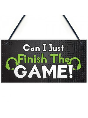 Games Room Sign Gaming Gift For Boys Bedroom Novelty Sign Gift