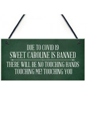 Sweet Caroline Song Novelty Funny Home Bar Pub Sign Alcohol Gift