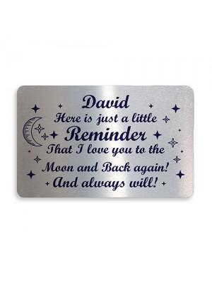 Personalised Love You Sentimental Keepsake Mum Dad Nan