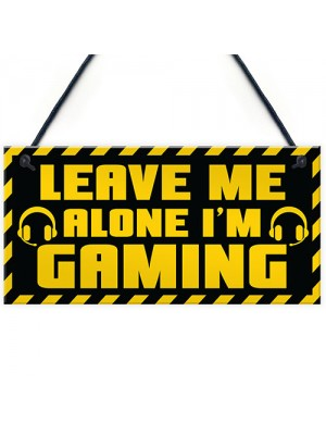 Boys Bedroom Gaming Sign Novelty Gamer Gifts For Games Room