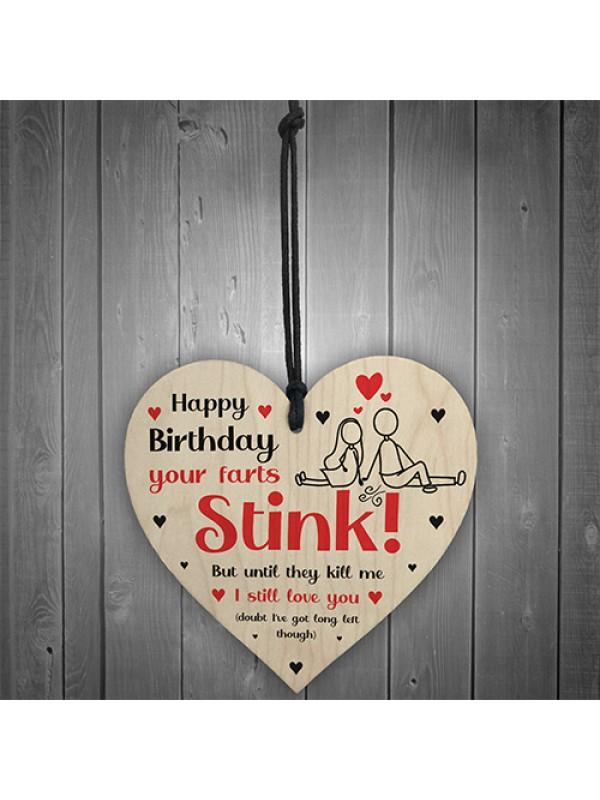 Funny Happy Birthday Gift For Boyfriend Girlfriend Husband Wife