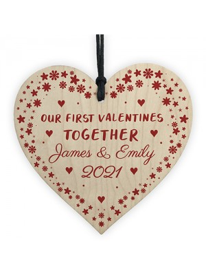 1st First Valentines Day Gift For Couple Him Her PERSONALISED