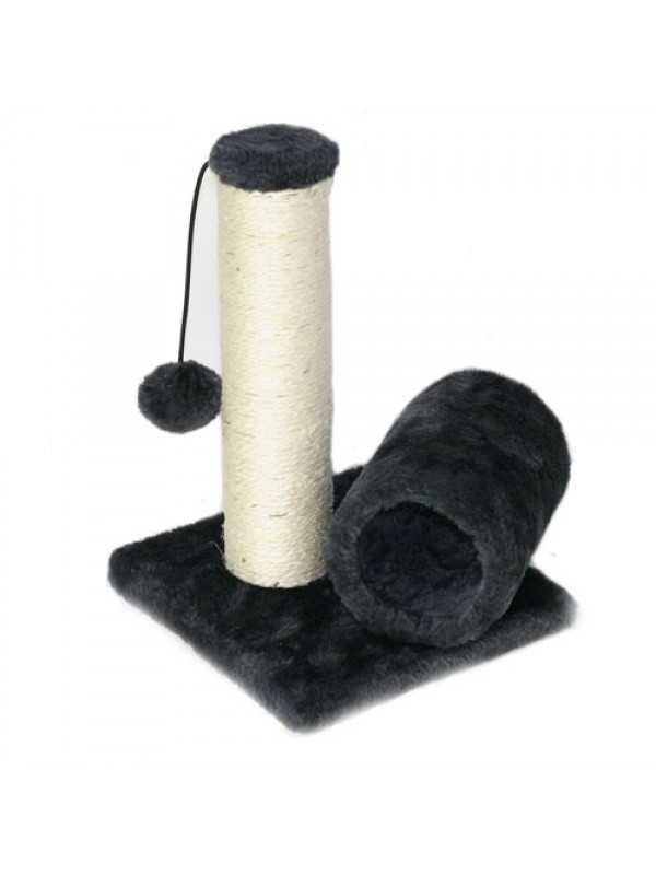 Cat Kitten Sisal Scratch Post Bed Toy With Tunnel