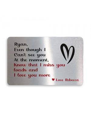Special Keepsake Valentines Anniversary Gift For Boyfriend