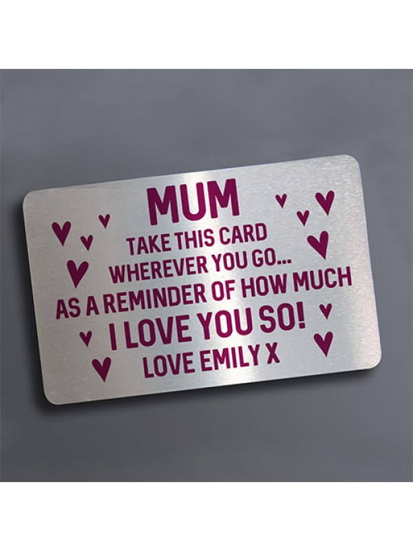 PERSONALISED Gift For Mum From Daughter Son On Mothers Day