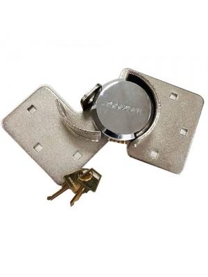 73mm Shackless Padlock Hasp Set Gate Shed Van Security Lock