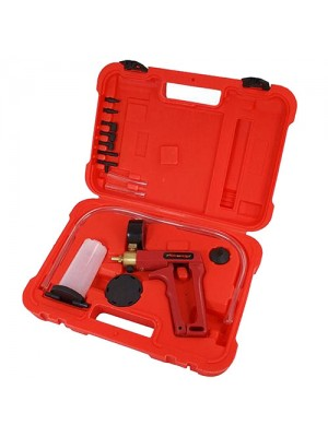 Hand Held Vacuum Pump Kit For Brake Bleeding - With Case