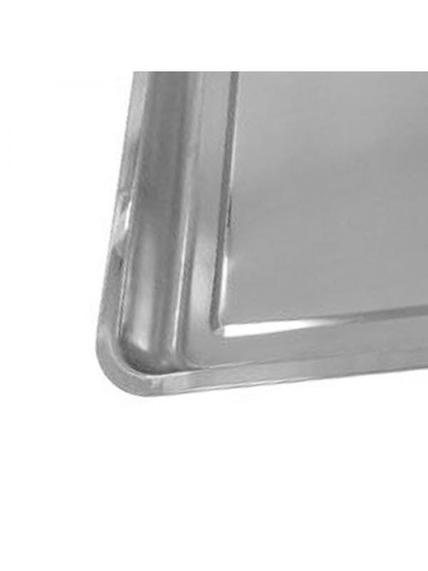 Stainless Steel Drip Tray DIY Oil Floor Contamination 60 x 40cm