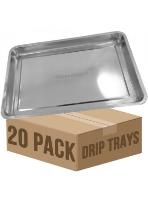 20 x Stainless Steel Drip Tray DIY Oil Floor Contamination 60x40