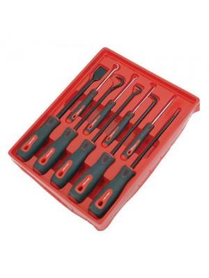 9 Pc Pro Mechanics Hook Pick Podger Gasket Scraper Tool Set