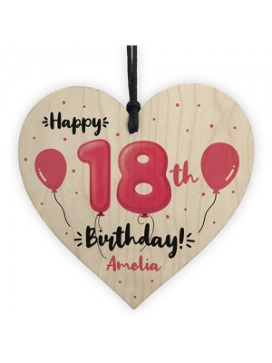 18th Birthday Gift For Daughter Sister Personalised 18th Decor