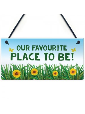 Garden Signs And Plaques Summer House Signs Garden Shed Sign