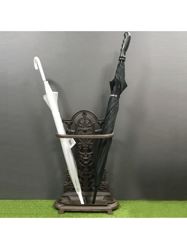 Cast Iron Ornate Umbrella Walking Stick Stand Vintage Brolly