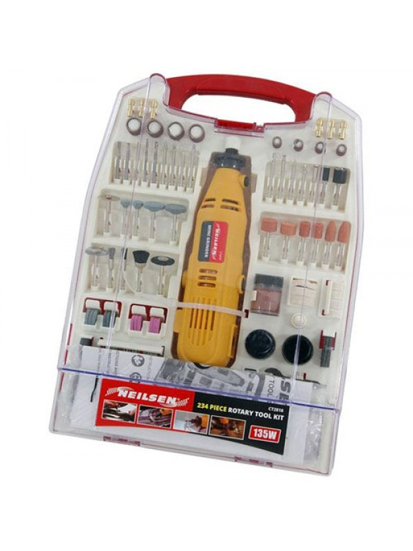 233pcs Rotary Tool Kit 135w Crafts Model Making Jewellery