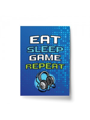 Gaming Print For Son Bedroom Games Room Gamer Gifts Wall Art