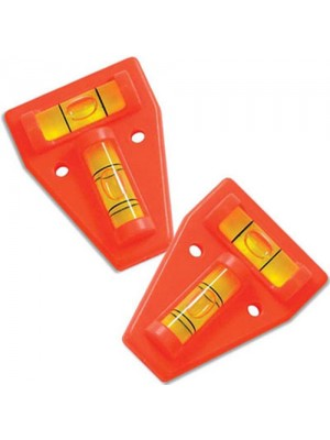 2 Way Caravan Spirit Mini Level Tool - 2 Pack!
