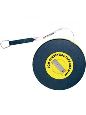 30M Surveyor Builders Fibreglass Measuring Tape