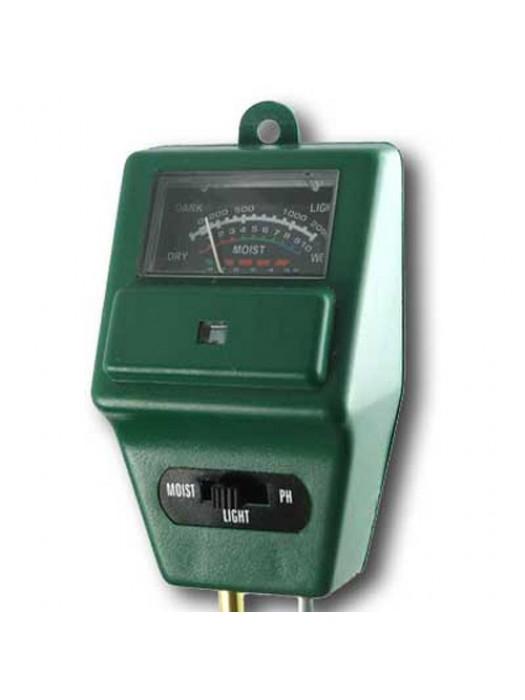 Advanced Soil Moisture, Light and pH Meter