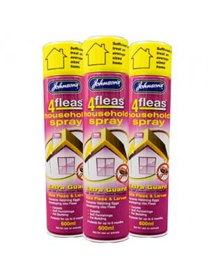 Johnsons 4Fleas Household IGR Flea Spray - 18 months Protection