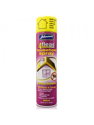 Johnsons 4Fleas Household IGR Flea Spray - 6 months Protection
