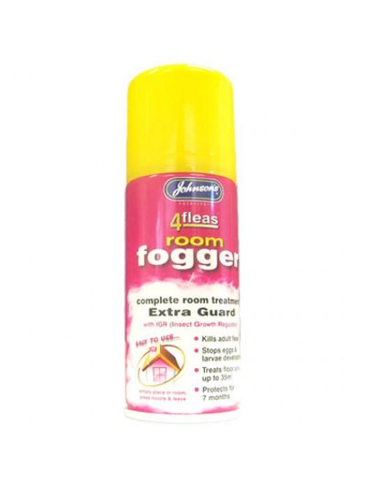 4fleas Room Flea Fogger Bomb - 100ml Can - 7 Months Protection