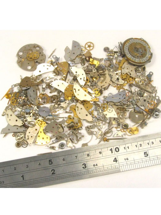 50G Assorted Alternative Steampunk Crafts Cyberpunk Watch Parts