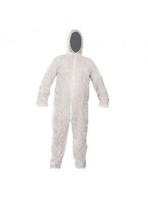 Disposable Paper Suit Protective Overall Coverall XL