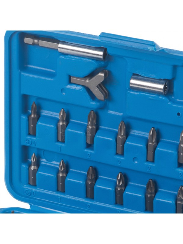 100pc CRV SECURITY SCREWDRIVER TORX HEX BIT SET