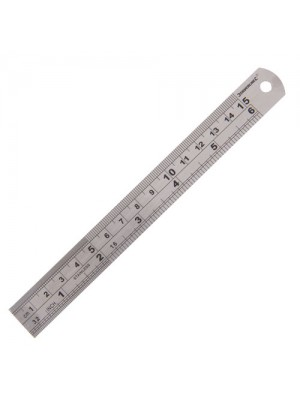 Steel Rule Ruler Measure Tools New 150mm