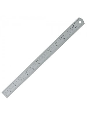 Steel Rule Ruler Measure Tools New 300mm
