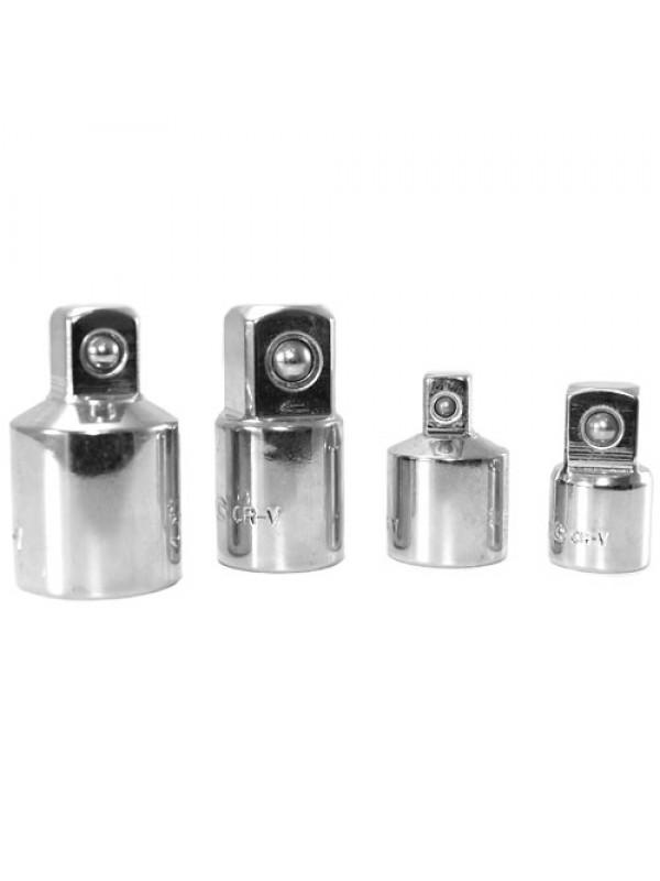 4pc Socket Converter Reducing Adapter Set - 1/2, 1/4, 3/8 inch