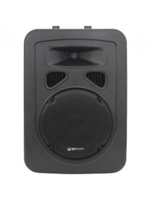 12 Inch Disco DJ PA 300W Active Moulded Sound Speaker