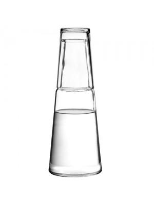 Carafe & Tumbler Water Wine Juice Glass Pitcher Decanter Jug