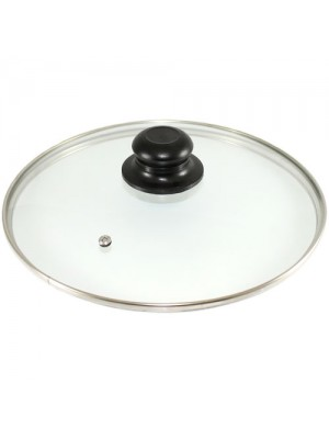 Replacement Vented Frying Saucepan Tempered Glass Pan Lid