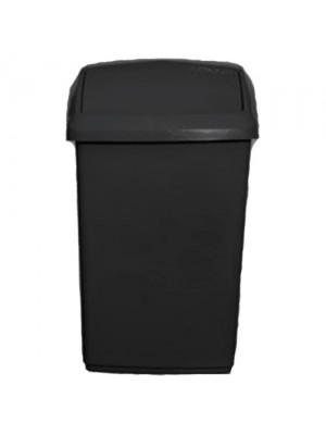 10L Plastic Swing Top Lid Garbage Rubbish Home Refuse