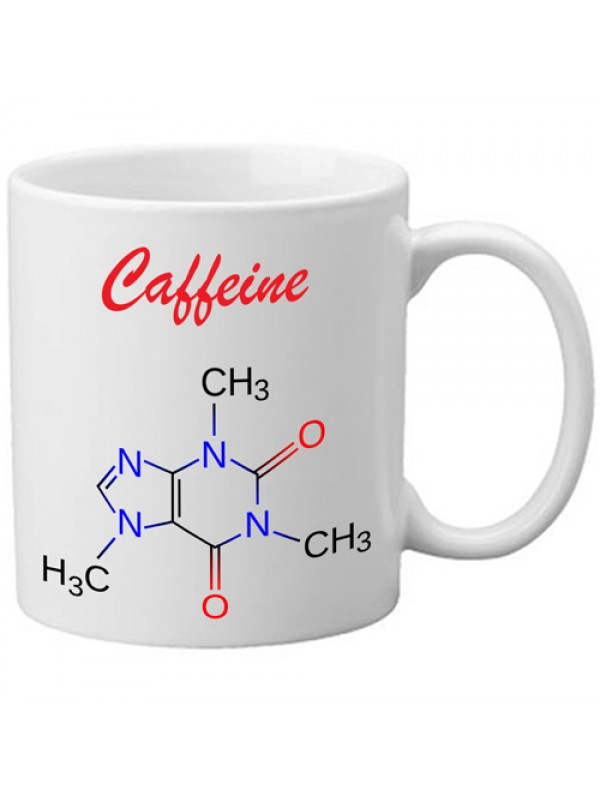 Freelogix Caffeine Molecule Caffeine Addict Tea Coffee Novelty Mug