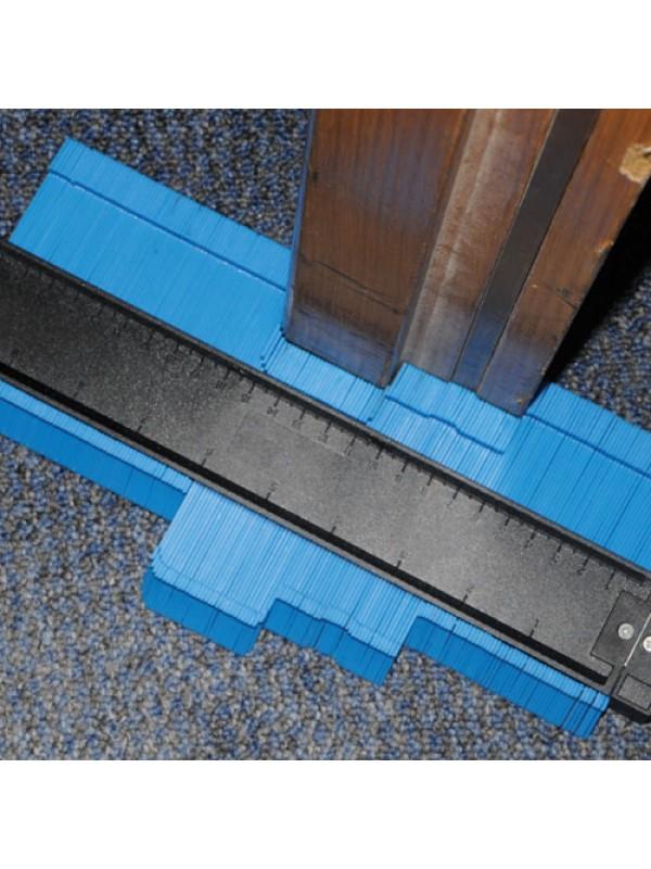 High Precision 250mm Profile Contour Gauge 45mm Deep Tiling Tool