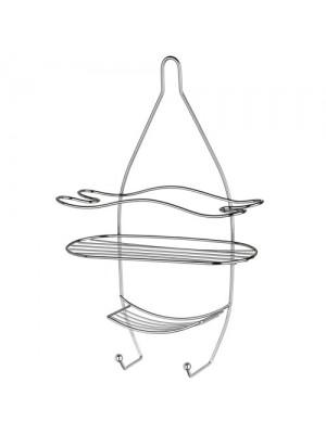 3 Tier Shower Caddy Shelf Storage Tidy With Hanging Hooks